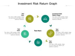 Investment Risk Return Graph Ppt Powerpoint Presentation Show Cpb
