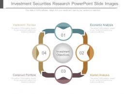 Investment Securities Research Powerpoint Slide Images