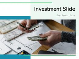 Investment Slide Financial Roadmap Strategy Implementation Process Planning