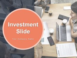 Investment Slide Growth Business Sources Financial Gear Currency