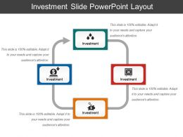 Investment Slide Powerpoint Layout