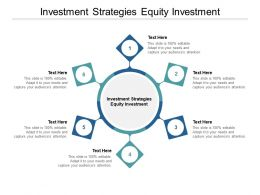 Investment Strategies Equity Investment Ppt Powerpoint Model Cpb