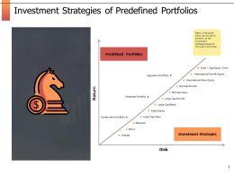 Investment Strategies Of Predefined Portfolios Ppt Powerpoint Presentation Outline Portfolio