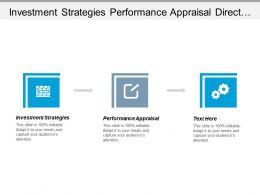 investment_strategies_performance_appraisal_direct_marketing_appraisal_management_cpb_Slide01