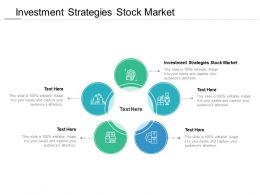 Investment Strategies Stock Market Ppt Powerpoint Presentation Gallery Template Cpb