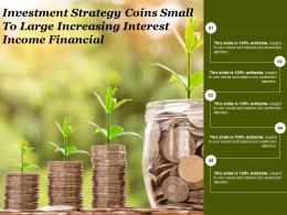 Investment Strategy Coins Small To Large Increasing Interest Income Financial