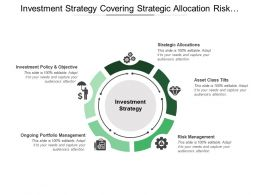 Investment Strategy Covering Strategic Allocation Risk Management Policy And Objectives
