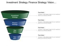 Investment Strategy Finance Strategy Vision Strategy Marketing Sales