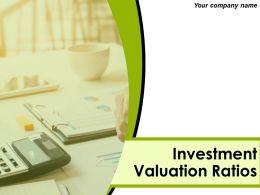 Investment Valuation Ratios Powerpoint Presentation Slides