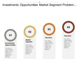 Investments Opportunities Market Segment Problem Solving Skills Sales Techniques