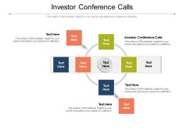 Investor Conference Calls Ppt Powerpoint Presentation Icon Design Ideas Cpb