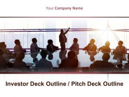 Investor Deck Outline Pitch Deck Outline Powerpoint Presentation Slides