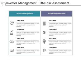 Investor Management Erm Risk Assessment Investment Bank Recruiting Cpb