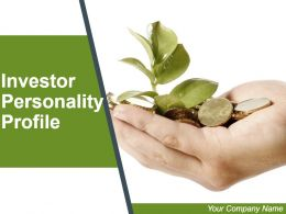 Investor Personality Profile Powerpoint Presentation Slides