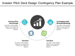Investor Pitch Deck Design Contingency Plan Example Marketing Cpb