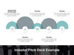 Investor Pitch Deck Example Ppt Powerpoint Presentation Pictures Structure Cpb