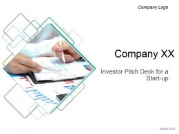 Investor Pitch Deck For A Start Up Powerpoint Presentation Slides