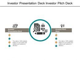 Investor Presentation Deck Investor Pitch Deck Employee Performance Management Cpb