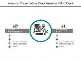 Investor Presentation Deck Investor Pitch Deck Employee Performance Management Cpb