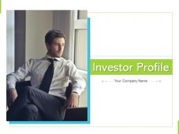Investor Profile Business Investment Sureness Financial Assessment