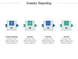 Investor Reporting Ppt Powerpoint Presentation Infographics Graphics Download Cpb