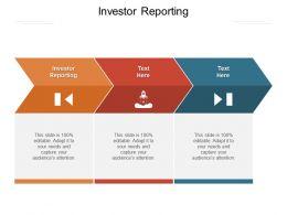 Investor Reporting Ppt Powerpoint Presentation Portfolio Gridlines Cpb