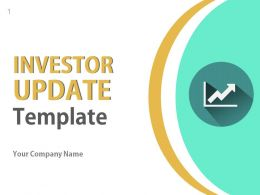 Investor Update Profile About Business PowerPoint Presentation With Slides