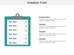 Investors Fund Ppt Powerpoint Presentation Icon Styles Cpb