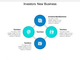 Investors New Business Ppt Powerpoint Presentation Ideas Example File Cpb