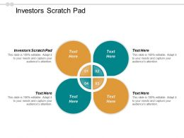 Investors Scratch Pad Ppt Powerpoint Presentation Icon Summary Cpb