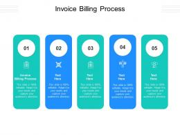Invoice Billing Process Ppt Powerpoint Presentation Icon Structure Cpb