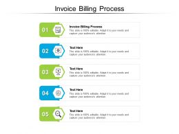 Invoice Billing Process Ppt Powerpoint Presentation Model Slideshow Cpb