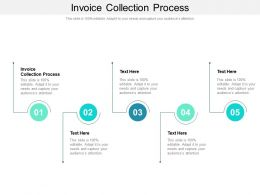 Invoice Collection Process Ppt Powerpoint Presentation Design Ideas Cpb