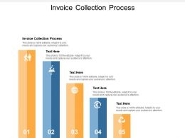 Invoice Collection Process Ppt Powerpoint Presentation Model Backgrounds Cpb