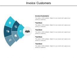 Invoice Customers Ppt Powerpoint Presentation Gallery Mockup Cpb