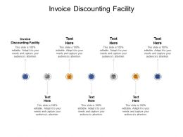 Invoice Discounting Facility Ppt Powerpoint Presentation Pictures Clipart Cpb
