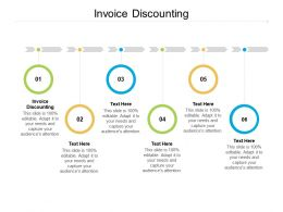 Invoice Discounting Ppt Powerpoint Presentation File Summary Cpb