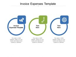 Invoice Expenses Template Ppt Powerpoint Presentation Inspiration Information Cpb