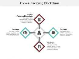 Invoice Factoring Blockchain Ppt Powerpoint Presentation Outline Guide Cpb