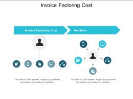 Invoice Factoring Cost Ppt Powerpoint Presentation Gallery Objects Cpb