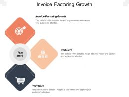 Invoice Factoring Growth Ppt Powerpoint Presentation Gallery Clipart Images Cpb