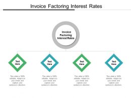 Invoice Factoring Interest Rates Ppt Powerpoint Presentation Styles Slides Cpb