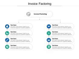 Invoice Factoring Ppt Powerpoint Presentation Professional Demonstration Cpb