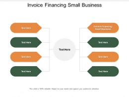 Invoice Financing Small Business Ppt Powerpoint Presentation Inspiration Cpb