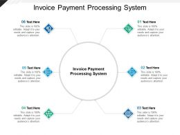 Invoice Payment Processing System Ppt Powerpoint Presentation Summary Icons Cpb