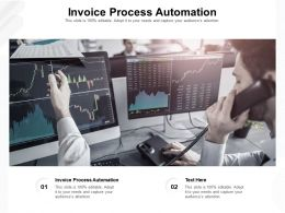 Invoice Process Automation Ppt Powerpoint Presentation Outline Guidelines Cpb