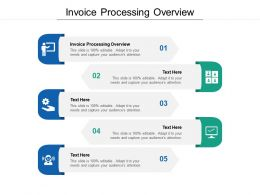 Invoice Processing Overview Ppt Powerpoint Presentation Show Maker Cpb