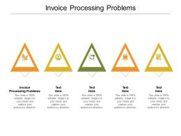 Invoice Processing Problems Ppt Powerpoint Presentation Model Objects Cpb