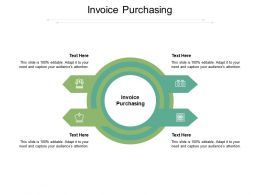 Invoice Purchasing Ppt Powerpoint Presentation Summary Gridlines Cpb