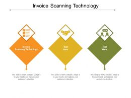 Invoice Scanning Technology Ppt Powerpoint Presentation Pictures Tips Cpb